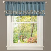 "Lush Decor Flower Drop Valance - 18"" x 84"""