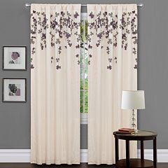 Lush Decor Flower Drop Window Panel - 42' x 84'