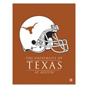 Texas Longhorns Helmet Canvas Wall Art