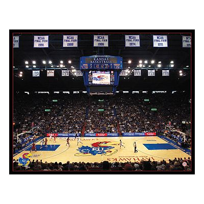 Allen Fieldhouse Canvas Wall Art