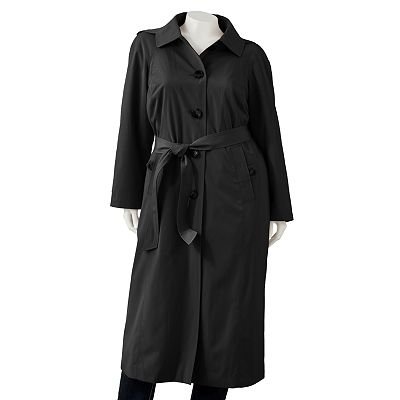 TOWNE by London Fog Trench Coat - Women's Plus