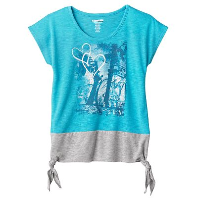 Hang Ten Colorblock Beach Tee - Girls 7-16