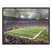 Mall of America Field at the Hubert H. Humphrey Metrodome Canvas Art