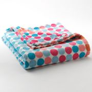 Jumping Beans Sweet Plush Throw