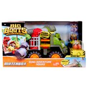 Matchbox Big Boots Dino Adventure Squad by Mattel