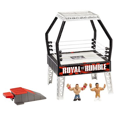 WWE Rumblers Blastin' Breakdown Playset by Mattel