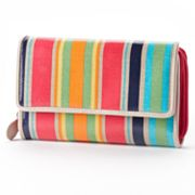 Croft and Barrow Striped Clutch