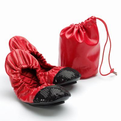 Apt. 9 Sequin Foldable Ballet Flats
