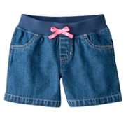 Jumping Beans Denim Shorts - Girls 4-7