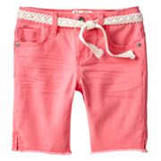 Mudd Denim Bermuda Shorts - Girls 4-6x