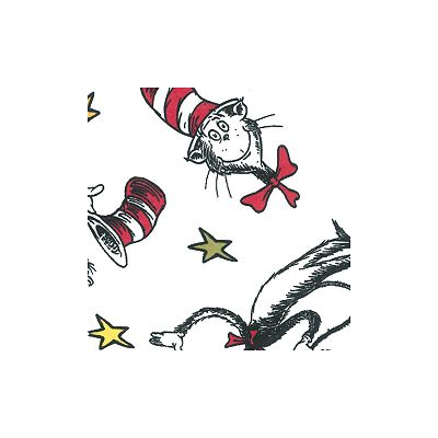 Dr. Seuss's The Cat in the Hat Crib Sheet by Trend Lab