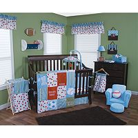 Trend Lab Little MVP 3-pc. Crib Bedding Set