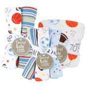 Trend Lab Little MVP 10-pc. Bath and Burp Set