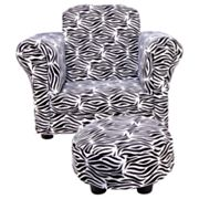Trend Lab Zahara Chair and Ottoman