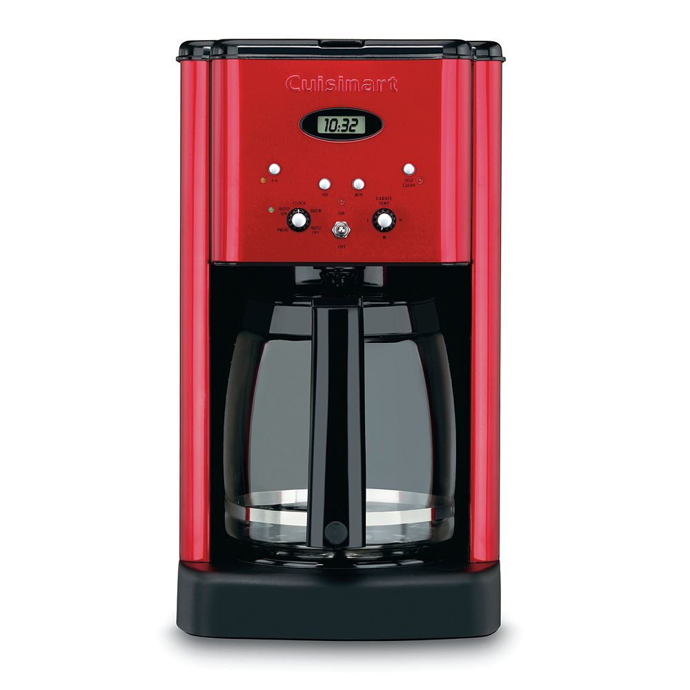 Cuisinart® Metallic Brew Central 12-Cup Programmable Coffee Maker