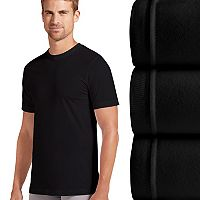Men's Jockey 3 pkSlim-Fit Tailored StayDry Crewneck Tees