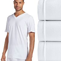 Men's Jockey 3-pk. Slim-Fit Tailored StayDry V-Neck Tees
