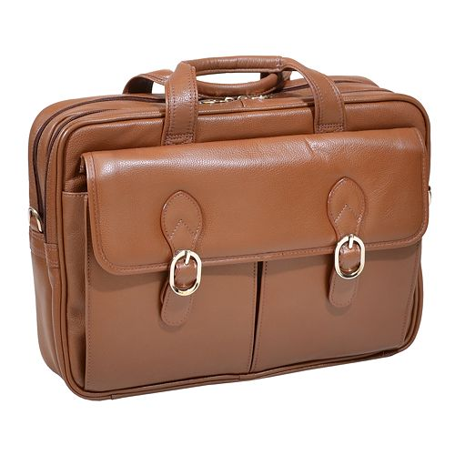 Mcklein Hyde Park 15.4-In. Laptop Briefcase