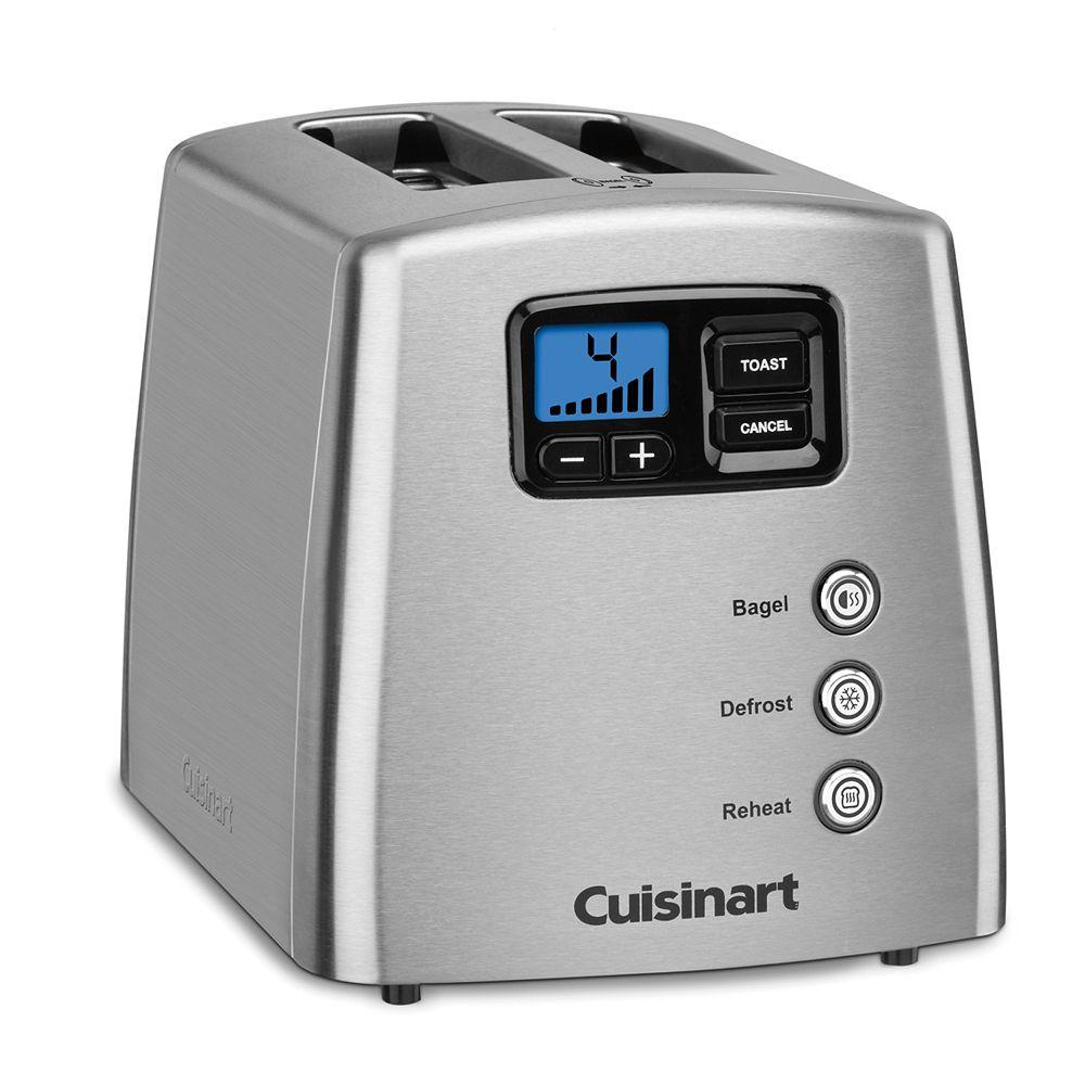 Cuisinart® Touch to Toast Leverless 2-Slice Toaster