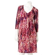 Dana Buchman Splatter Shift Dress