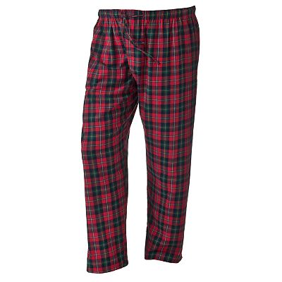 Residence Plaid Flannel Lounge Pants - Big and Tall