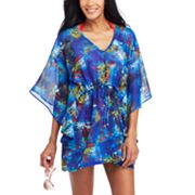 Apt. 9 Striped Chiffon Cover-Up Tunic