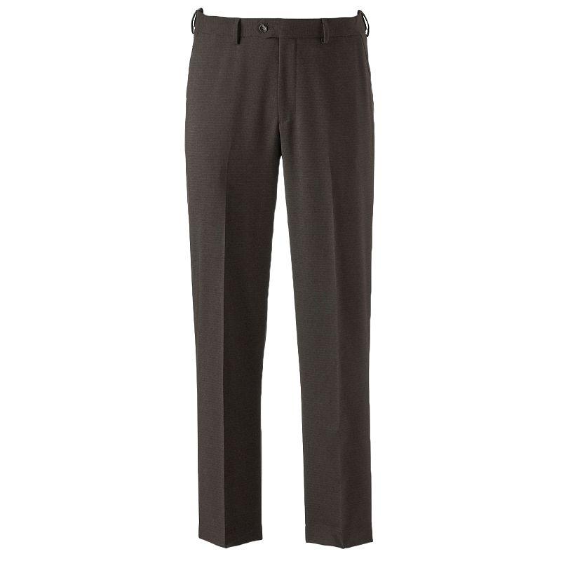 Men's Croft & Barrow® True Comfort Classic-Fit Flat-Front Dress Pants