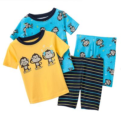 Jumping Beans Music Monkey Pajama Set - Baby