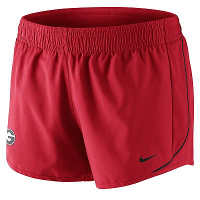 Nike Georgia Bulldogs 10K Dri-FIT Shorts - Women