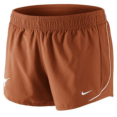Nike Texas Longhorns 10K Dri-FIT Shorts - Women
