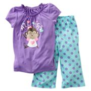 Jumping Beans All Hugs Pajama Set - Girls 4-7