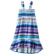 Mudd Striped Convertible Dress and Skirt - Girls 4-6x
