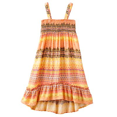 Mudd Abstract Convertible Dress and Skirt - Girls 4-6x