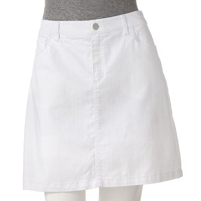 Croft and Barrow Denim Skort