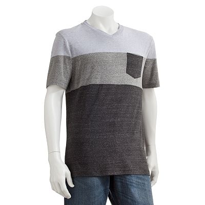 Marc Anthony Colorblock V-Neck Tee