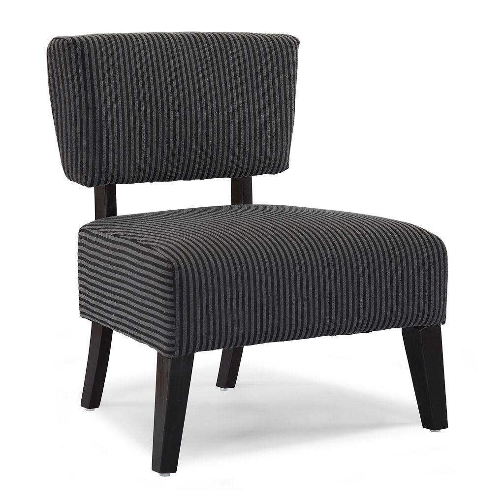 DHI Delano Striped Chair