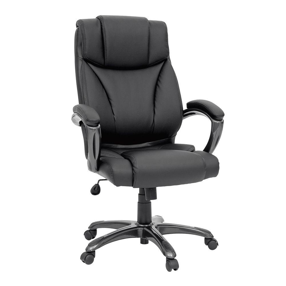 Sauder Gruga Executive Leather Desk Chair