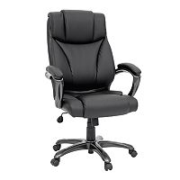 Sauder Gruga Executive Leather Desk Chair