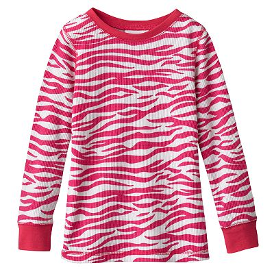 Jumping Beans Zebra Thermal Tee - Toddler