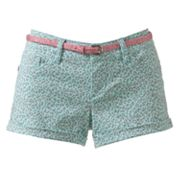 Wallflower Cuffed Shortie Shorts - Juniors