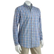 Chaps Ocean Wind Gingham Checked Casual Button-Down Shirt - Big and Tall