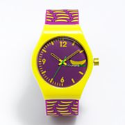 RumbaTime Delancey Purple Silicone Watch - 11774  - Women