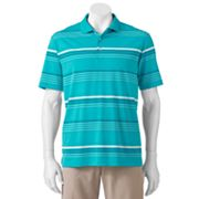 Chaps Coastal Yarn-Dyed Striped Golf Performance Polo - Big and Tall
