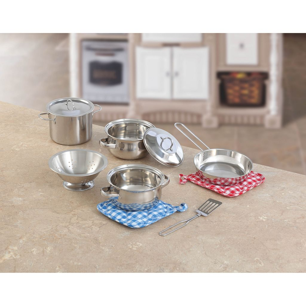 Step2 Cooking Essentials 10-pc. Stainless Steel Set