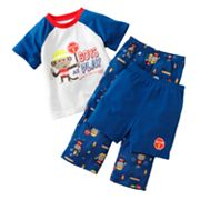 Jumping Beans Monkey Pajama Set - Baby