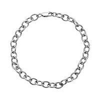 Sterling Silver Rolo Chain Bracelet