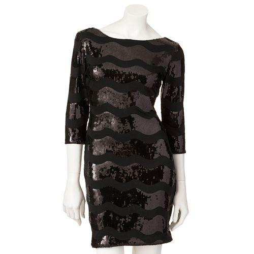 Lily Rose Sequin Wave Dress $ 49.99