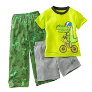 Jumping Beans Alligator Pajama Set - Toddler