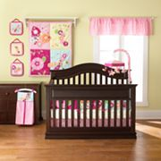 TOO GOOD by Jenny McCarthy Floral Flutter Crib Set