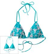 SO Reversible Triangle Bikini Top